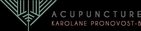 Acupuncture Karolane Pronovost-Belzil